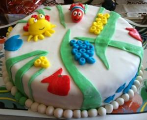 Şeker Hamuru İle Butik Pasta Tarifi