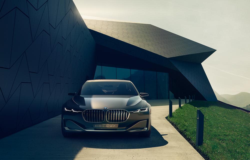 """Client: BMW Art Director: Phillip Schlegel Photographer: Uli Heckmann Post Artists: Christian Schemer, Jonas Braukmann, Marion Trenkler, Nele Ebner, Tobias Scheuerer Images to the international presentation of the concept car """"BMW Vision Future Luxury"""""""