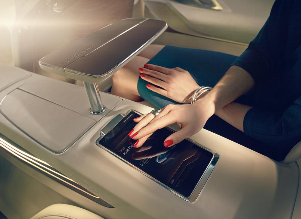 """Client: BMW Art Director: Phillip Schlegel Photographer: Uli Heckmann Post Artists: Christian Schemer, Jonas Braukmann, Marion Trenkler, Nele Ebner, Tobias Scheuerer. Images to the international presentation of the concept car """"BMW Vision Future Luxury"""""""