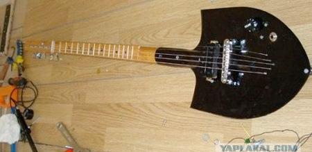 Своими руками гитару из подручных материалов 29