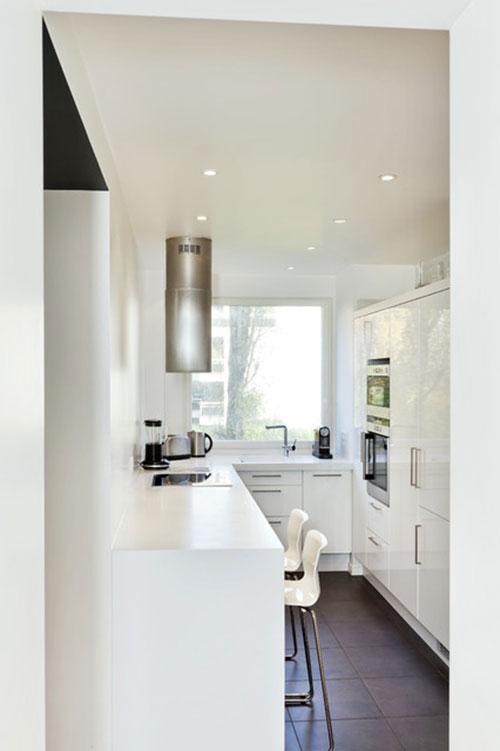 küçük mutfak camları için perde