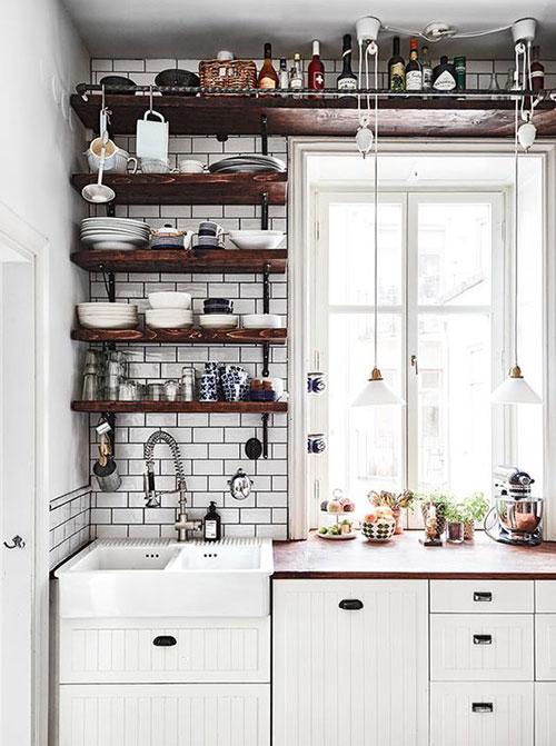 küçük mutfak dizayn