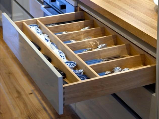 mutfak dolap içi düzenleme aparatları