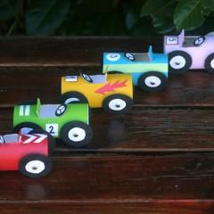 Tuvalet Kağıdı Rulolarından Araba Oyunu Yapımı