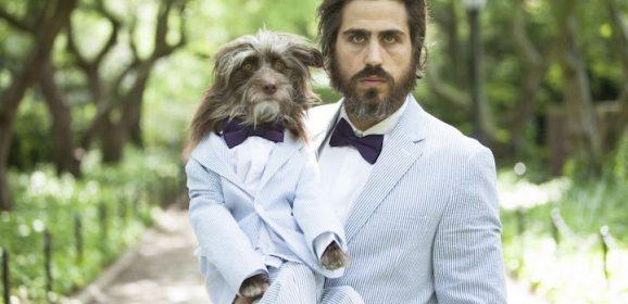"""Babalar Günü İçin """"Babaları"""" ile Poz Veren Düşünceli Köpekler"""
