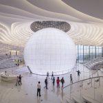 Dünyanın En Havalı Kütüphanesi 1.2 Milyon Kitap ile Çin'de Açıldı