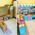 Karton Kutulardan Mükemmel Bir Mini Mutfak Nasıl Yapılır
