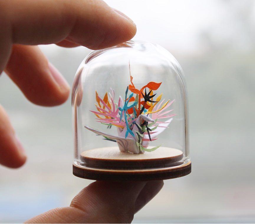 Origami-basit-kuş