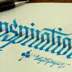 Virtüöz Kaligrafi Ustası Tolga Girgin'den Harikulade 3 Boyutlu Çalışmalar