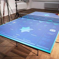 Bu İnteraktif Ping Pong Masası Size Yeteneklerinizi Nasıl Geliştireceğinizi Öğretiyor