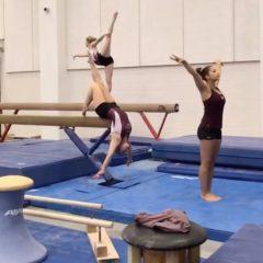 """En İyi """"Mannequin Challenge"""" Bir Jimnastik Takımından Geldi"""