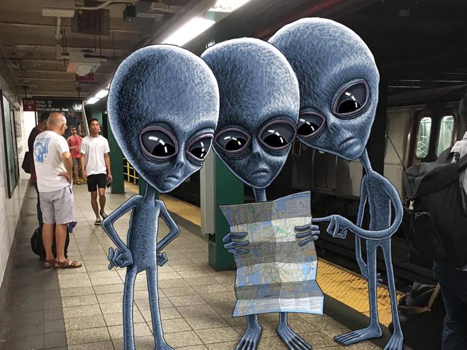 Metro Uzaylılar