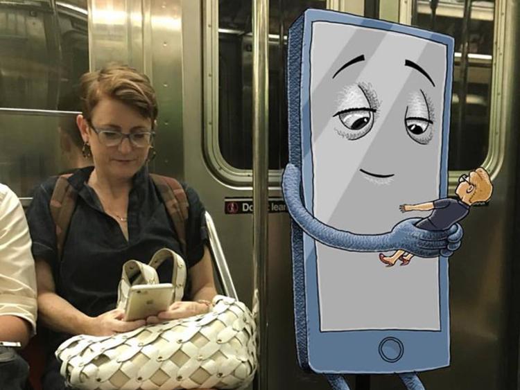 Metro'da canavar