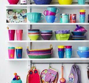 Mutfakta Yeni Moda Açık Raflara 23 Modern Örnek