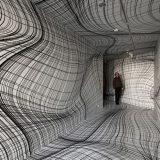 Peter Kogler'den Baş Döndürücü Optik İlüzyon Odaları