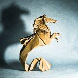 Origami Sanatından 20 İnanılmaz Minyatür Hayvan Çalışması
