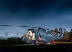 Benzersiz Bir Otel Odasına Dönüştürülen Eski Deniz Kuvvetleri Helikopteri
