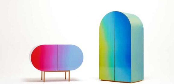 Güney Koreli Tasarımcılar Yüzey Rengi Değişen Mobilyalar Geliştirdi