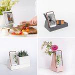 Seramikten Yapılmış Çok Amaçlı Cep Telefonu ve Tablet Tutucuları