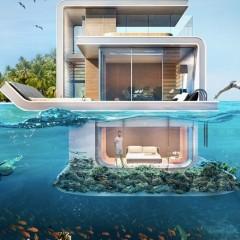 Dubai'nin Alt Katı Su Altında Olacak Tripleks Villaları