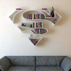 Türk Tasarımcı Burak Doğan'dan Süper Kahraman Kitaplıkları