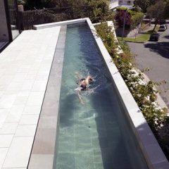 Tek Kulvarlı Havuz Modasına 14 Güzel Örnek