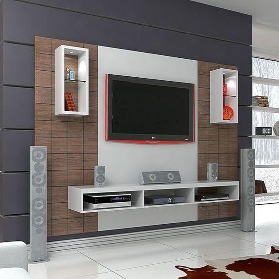 Interior Design Ideas For Home Theater: Modern Ve Şık 20 Televizyon Ünitesi