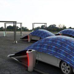 Endüstriyel Tasarımcı Hakan Gürsu'dan Elektrikli Araba Şarjı Tentesi: V-Tent