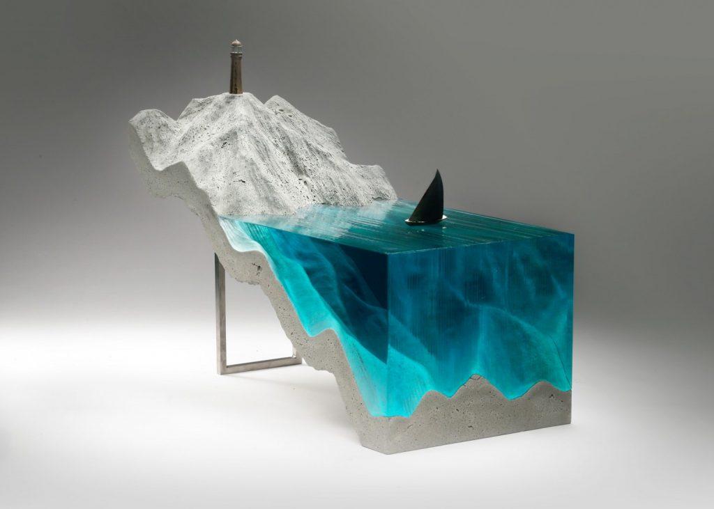 köpekbalığı-heykel
